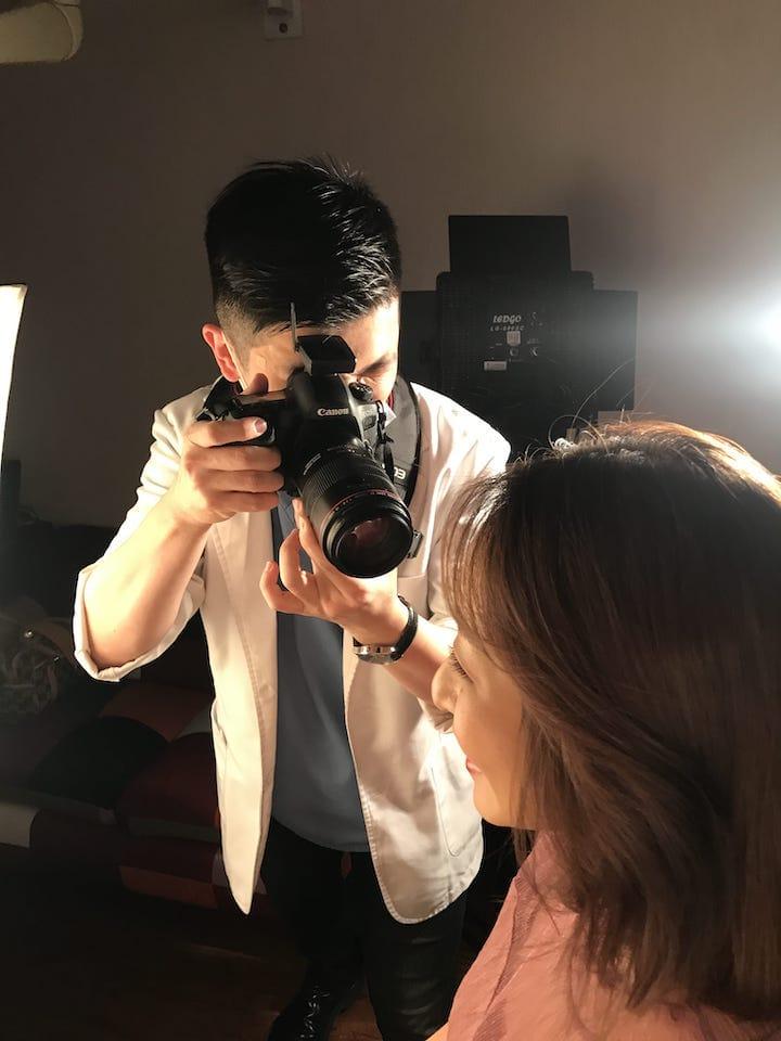 DSD數位微笑設計如何進行-專業攝影棚拍攝