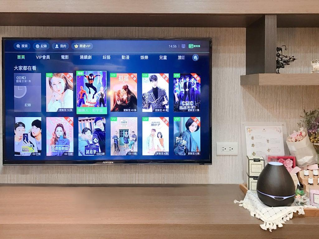 前牙美學專家-沈志容醫師推薦案例-網紅克萊兒牙齒美白全記錄-診所內也有超多電影電視可以觀看