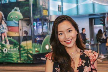 瓷牙貼片流程-一日美齒-海外牙齒美白推薦牙醫-沈志容醫師-香港空姐Milla完成瓷牙貼片療程後的笑容