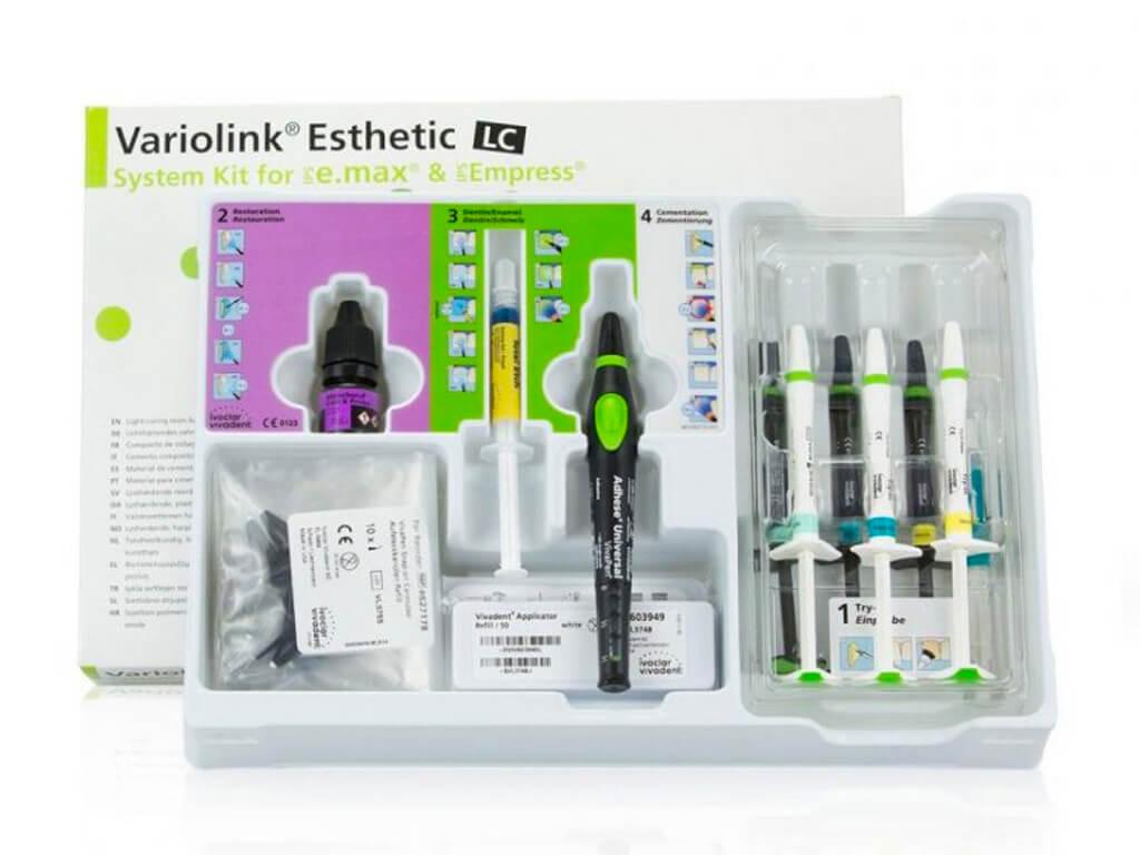 陶瓷貼片價格-牙齒貼片-瓷牙貼片-牙齒美白推薦-e.max原廠專用陶瓷類光照型黏著劑 Variolink Esthetic LC